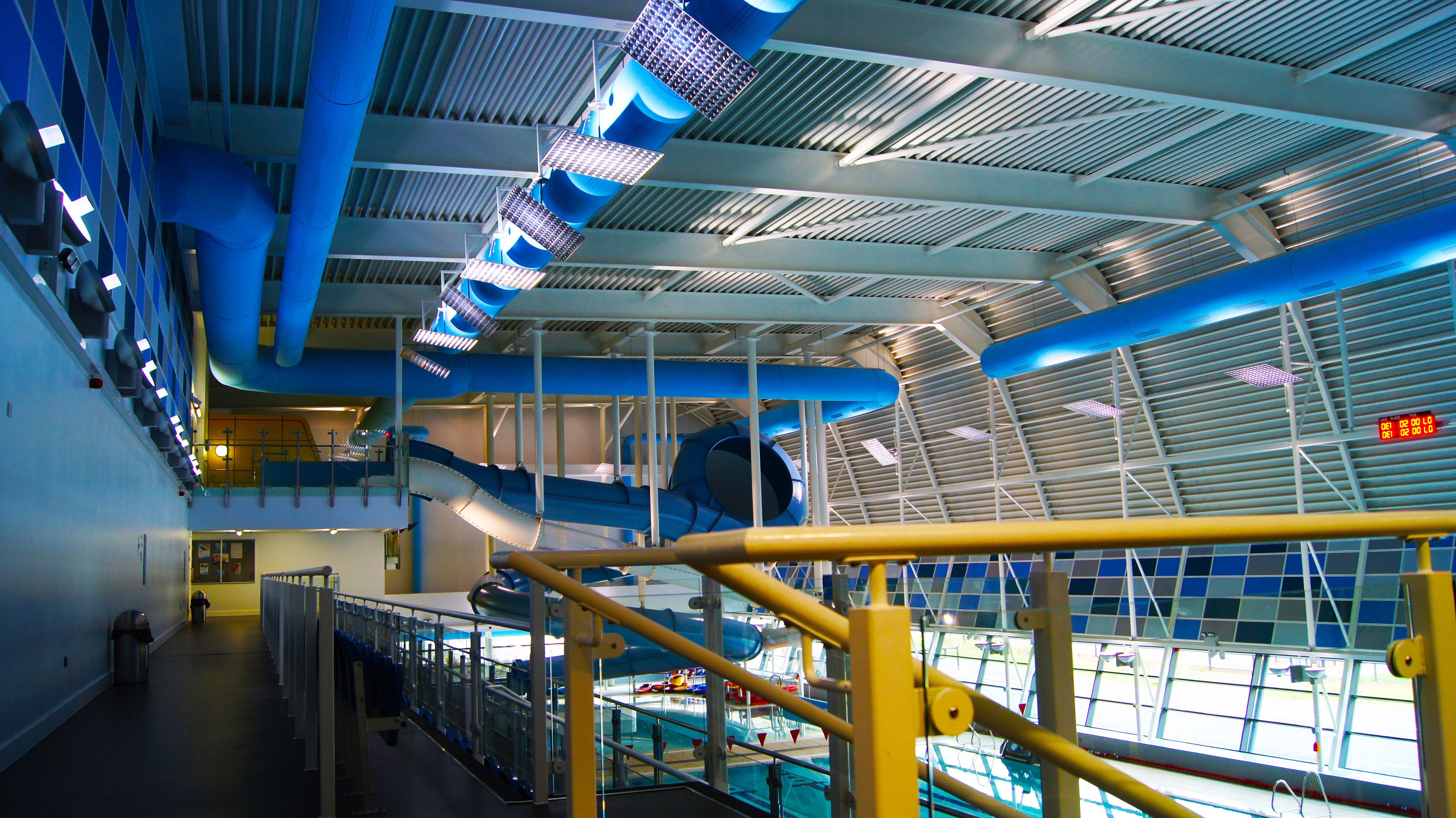 kumaş kanal kapalı havuz uygulama