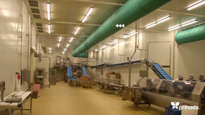 kumaş kanal gıda tesisi uygulama