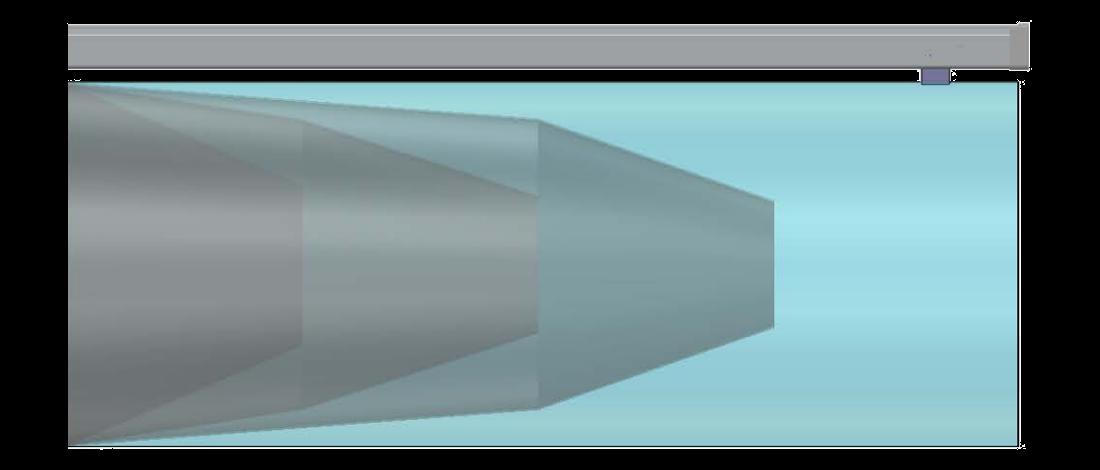 kumaş kanal hat sonu darbe emici sistem