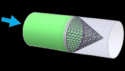 kumaş kanal ekolayzer 1 uygulama