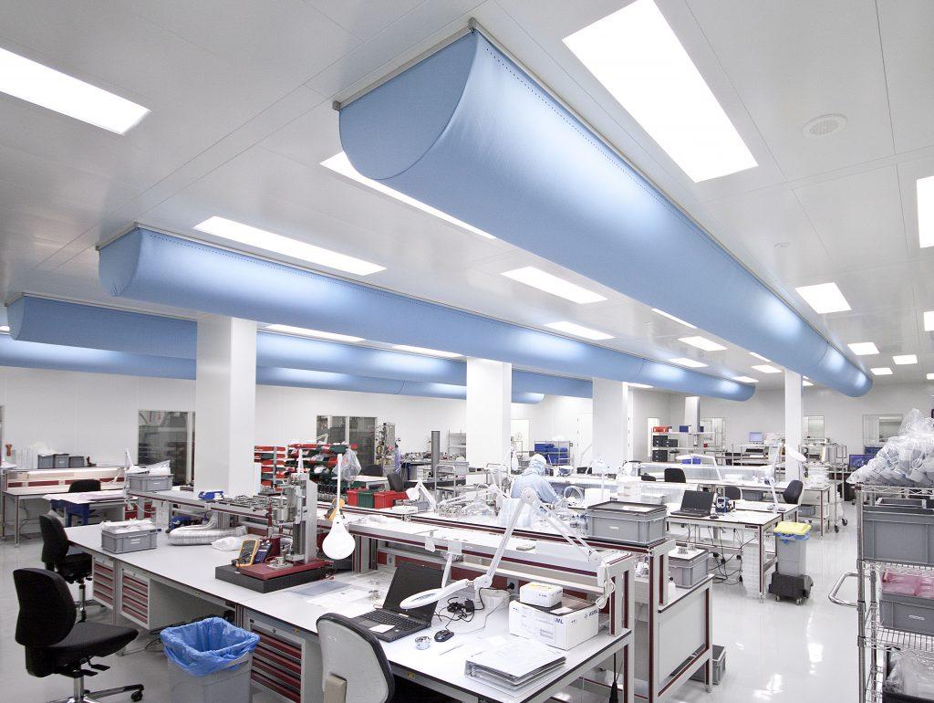 laboratuvar make-up havalandırması